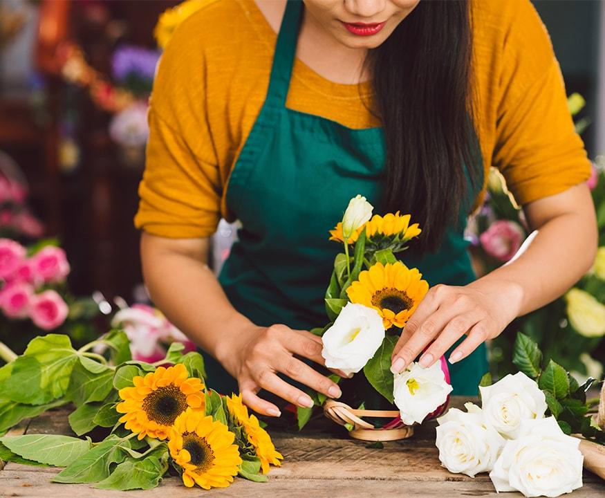 Découvrez nos offres d'abonnement et de livraison de fleurs avec Bureau Flore